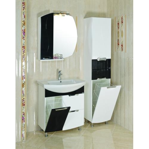 Комплект мебели Аква Родос ПРЕМИУМ 75 черный