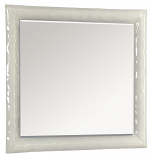 Зеркало МОДЕНА 90 белое