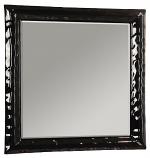 Зеркало МОДЕНА 90 черное