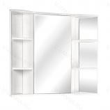 Шкаф-зеркало ONIKA АРНО 60.00 белое, угловое