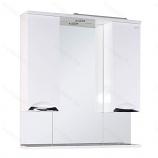 Шкаф-зеркало ONIKA ЛАГУНА 85.01 белый