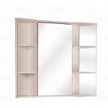 Шкаф-зеркало ONIKA АРНО 60.00 белое дерево, угловое