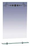 Зеркало MISTY БАБОЧКА 60 с полочкой