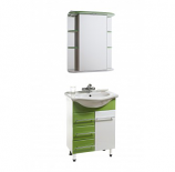 Комплект мебели АКВАТОРИЯ БАЙКАЛ 60.10 зеленый