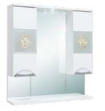Шкаф-зеркало ONIKA ФЛОРЕНА 78.01 белый