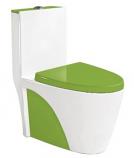 Моноблок B&C 9168 бело-зеленый