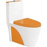 Моноблок B&C 9168 бело-оранжевый